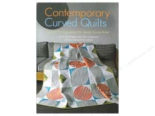 Quilting Books & Patterns: Landauer Contemporary Curved Quilts Book