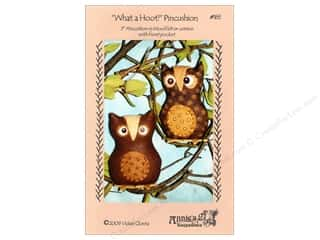 Annie's Keepsake Home Decor Patterns: Annie's Keepsakes What A Hoot Pincushion Pattern