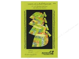 Table Runners / Kitchen Linen Patterns: Leaves On A Roll Placemats Pattern