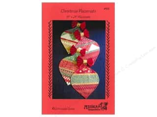 Christmas inches: Annie's Keepsakes Christmas Placemats Pattern