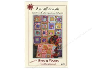 Bits 'n Pieces Quilting Patterns: Bits 'n Pieces 8 Is Just Enough Pattern