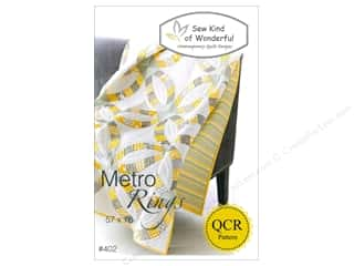 Quiltsillustrated.com Jelly Roll Patterns: Sew Kind Of Wonderful Metro Rings Pattern