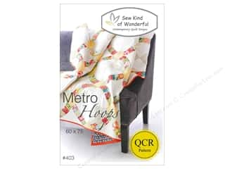 Fat Quarter / Jelly Roll / Charm / Cake Patterns: Sew Kind Of Wonderful Metro Hoops Pattern