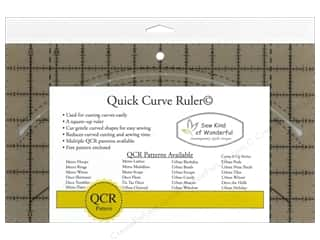 Templates Sewing & Quilting: Sew Kind Of Wonderful Quick Curve Ruler