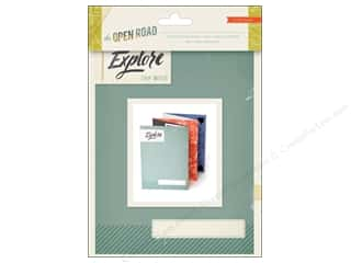 Crate Paper Album Open Road Mini Book Accordion