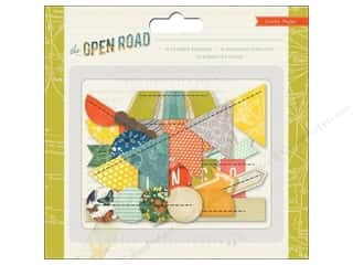 Crate Paper  Embel Open Road Stitched Borders