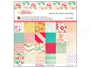 Crate Paper Pad 12 x 12 in. Oh Darling