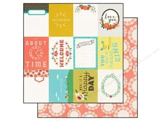 Echo Park Paper 12x12 Simple Life Happy Day (25 piece)