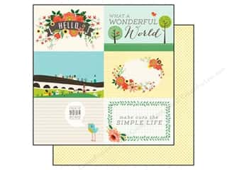 Echo Park Paper 12x12 Simple Life Wonderful World (25 piece)