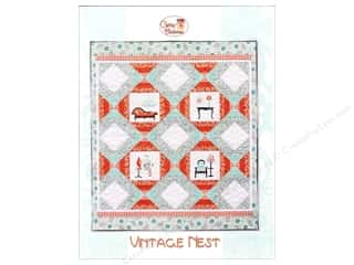 Patterns Fall Favorites: Cherry Blossoms Quilting Vintage Nest Pattern