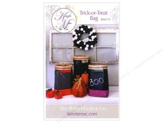 Halloween Books & Patterns: Kenzie Mac & Co Trick Or Treat Bag Pattern