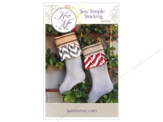 Sewing & Quilting Family: Kenzie Mac & Co Sew Simple Stocking Pattern