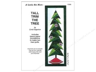 Bareroots Home Decor Patterns: A Very Special Collection Tall Trim The Tree Pattern