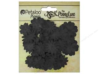Petaloo Chipboard Embellishments: Petaloo Color Me Crazy Chalkboard Mini Delphiniums