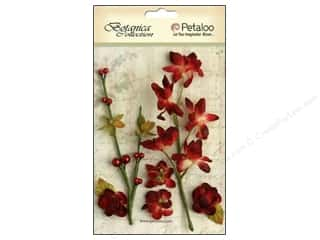 Petaloo Botanica Floral Ephemera Red