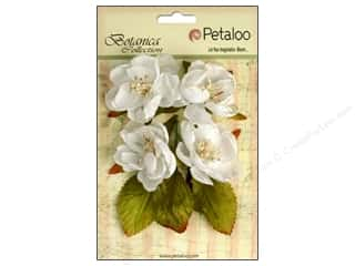 Floral Arranging Scrapbooking & Paper Crafts: Petaloo Botanica Collection Blooms White