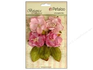Floral Arranging Scrapbooking & Paper Crafts: Petaloo Botanica Collection Blooms Soft Pink