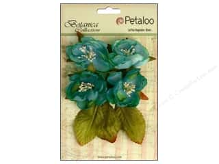 Flowers / Blossoms Blue: Petaloo Botanica Collection Blooms Teal