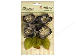 Grey: Petaloo Botanica Collection Blooms Charcoal Grey