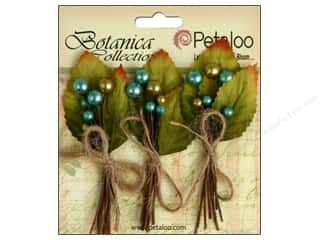 Imagine Crafts Blue: Petaloo Botanica Collection Spring Berry Cluster Teal