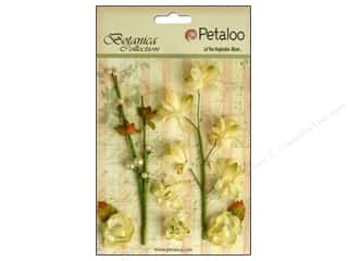 Petaloo Botanica Floral Ephemera Soft Yellow