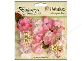 Floral Arranging Scrapbooking & Paper Crafts: Petaloo Botanica Collection Minis Soft Pink
