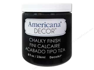 Americana: DecoArt Americana Decor Chalky Finish Carbon 8oz
