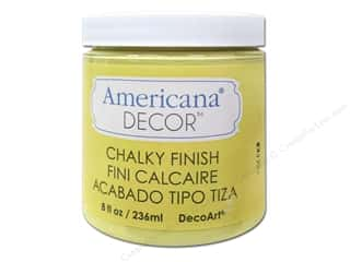 Home Decor Americana: DecoArt Americana Decor Chalky Finish Delicate 8oz