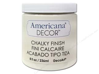 DecoArt Elegant Finish Paint: DecoArt Americana Decor Chalky Finish 8 oz. Lace