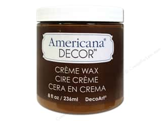 Finishes Brown: DecoArt Americana Decor Creme Waxes Golden Brown 8oz