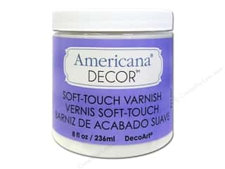 Decoart: DecoArt Americana Decor Soft Touch Varnish 8oz