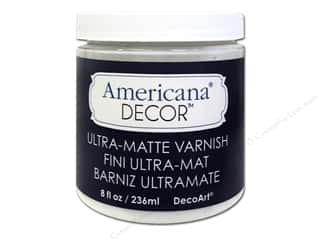 DecoArt Elegant Finish Paint: DecoArt Americana Decor Varnish Ultra Matte 8oz