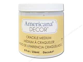 Americana: DecoArt Americana Decor Crackle Medium 8oz