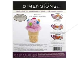 Felting Crafting Kits: Dimensions Needle Felting Kits Ice Cream Cone
