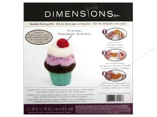 Felt Projects & Kits: Dimensions Needle Felting Kits Cupcake