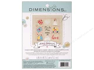 Metal Wedding: Dimensions Embroidery Kit Memory Sampler Amy Powers Wedding