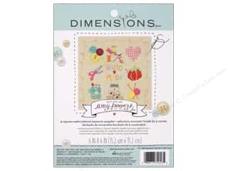 Jars Projects & Kits: Dimensions Embroidery Kit Memory Sampler Amy Powers Handmade