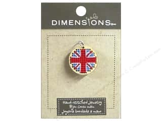 Dimensions Jewelry Hand Stitched Union Jack Nat