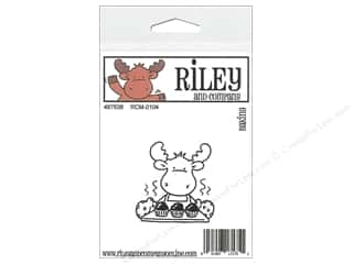 moose: Riley & Company Cling Stamps Baking