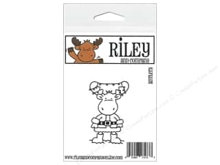 moose: Riley & Company Cling Stamps Antlers