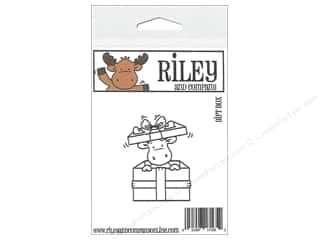 Valentines Day Gifts Stamps: R&C Cling Stamp Gift Box