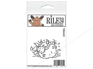 R&C Cling Stamp Snowball