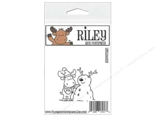 R&C Cling Stamp Snowman