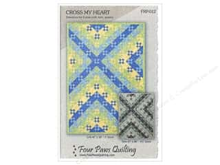 Four Paws Quilting: Four Paws Quilting Cross My Heart Pattern