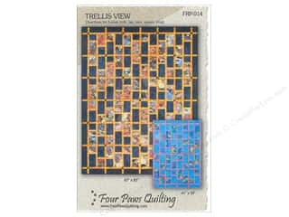 Four Paws Quilting: Trellis View Pattern