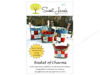 Brookshier Design Studio Charm Pack Patterns: Sweet Jane's Designs Basket of Charms Pattern