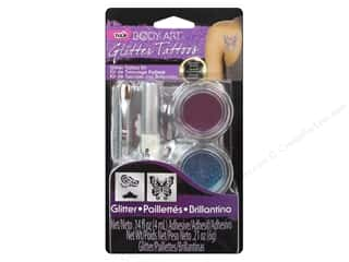 2013 Crafties - Best Adhesive: Tulip Body Art Tattoo Kit Small Purple
