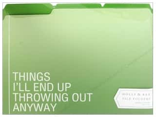"Gifts & Giftwrap 11"": Molly & Rex Organizer Modern Thoughts File Folders Things (10 sets)"