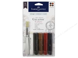 Painting Inks: FaberCastell Gelatos Mix & Match Set Steam Punk