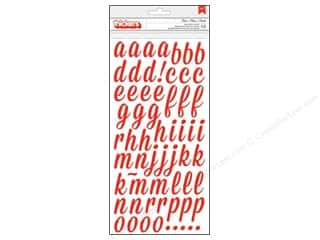Thickers Alphabet Stickers Open Road Fireberry